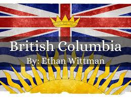 Flag British Columbia British Columbia By Wittman Ethan
