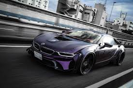 Bmw I8 Night - bmw evo i8