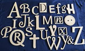Decorated Letters For Nursery Manificent Decoration Alphabet Letters Wall Decor Wooden Set