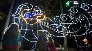 newport news celebration in lights adds led screens to display