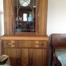 Antique Dining Room Hutch Best Antique Dining Room Suite Hutch Buffet Table With 6 Chairs