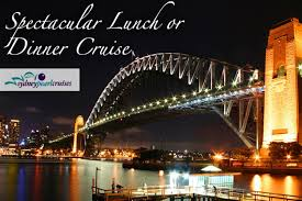 dinner cruise sydney scoopon spectacular lunch or dinner sydney harbour cruise with wine