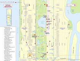 Map Of Manhattan New York City by Maps Of New York Top Tourist Attractions Free Printable