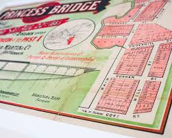 St Lucia Map Estate Map Princess Bridge St Lucia