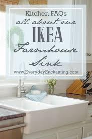 The  Best Ikea Farmhouse Sink Ideas On Pinterest Apron Sink - Apron kitchen sink ikea