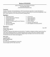 Electrical Maintenance Engineer Resume Samples Engineer Resume Senior Watch Engineer Resume 3 Amazing