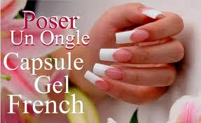 dessin sur ongle en gel comment poser un ongle en gel uv sur capsule french youtube