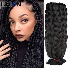 braided extensions hair extensions blond 42 kanekalon diy braiding hair