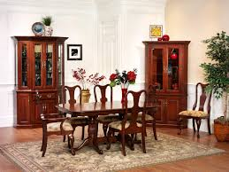 queen victoria dining room amish furniture designed