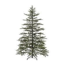 tree noble fir artificial tree pre lit