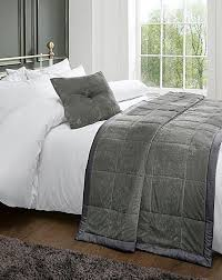 Grey Quilted Comforter China Grey Velvet Quilted Bedspread Quilt Coverlet Supplier And