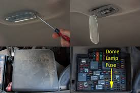 how to make the dome light come on in a chevy truck it still
