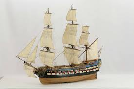 sailing ship model french ship of the line le protecteur
