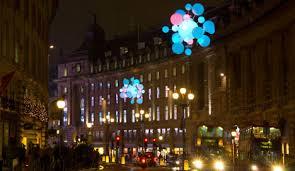 nokia lights up regent street creative review