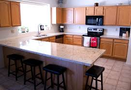quartz countertops with oak cabinets heidi schatze kitchen upgrade cambria quartz