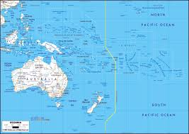 major cities of australia map maps of australia and oceania and oceanian countries political