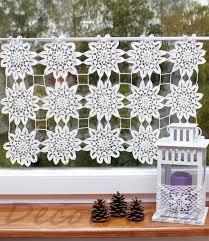 Crochet Valance Curtains 31 Best Crochet Valance Curtain Images On Pinterest Valance