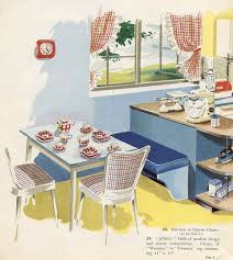 Retro Kitchen Curtains 1950s by 76 Best Vintage Kitchen Images On Pinterest Retro Kitchens