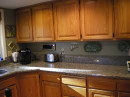 gray kitchen walls with oak cabinets painting oak cabinets white