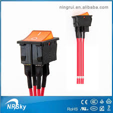 ul approved 4 pin illuminated on off rocker switch on wire buy