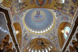 Cathedral Interior Amazing Interior Of The Naval Cathedral In Kronstadt Russia