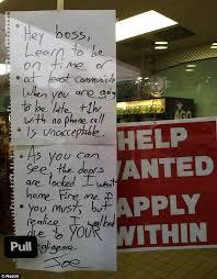 michigan bp gas station worker joe blumm u0027s awesome quitting note