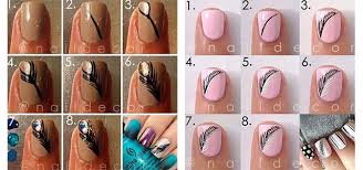 step by step autumn nail art tutorials for learners 2017 modern