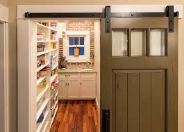Sliding Barn Doors A Practical Solution For Large Or by 25 Trendy Kitchens That Unleash The Allure Of Sliding Barn Doors