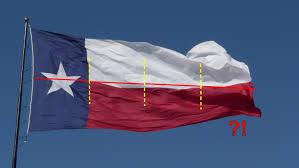 Texas State Flag Centerpointe Communicator Texas Flags Improperly Displayed