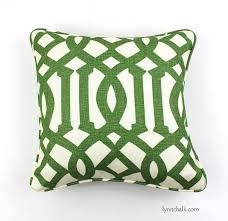 kelly wearstler imperial trellis midnight pillow