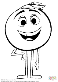 gene from emoji movie coloring page free printable coloring pages