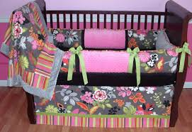 girls pink and purple bedding baby nursery cute image of baby nursery room decoration