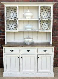 china cabinet hutch country farmhouse french provincial buffet and