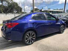 new 2018 toyota corolla se 4dr car in miami c967097 toyota of