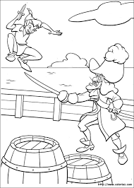 coloriage peter pan coloring pages children