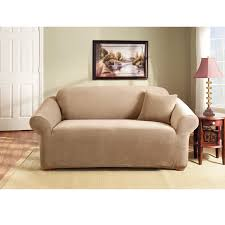 Sure Fit 3 Piece Sofa Slipcover by Sure Fit Stretch Pearson Sofa Slipcover Coffee Walmart Com