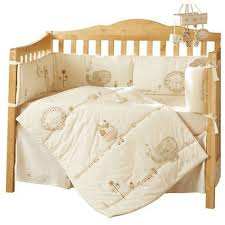 Organic Crib Bedding by Sleep Fit For A Newborn Sleepy Safari Crib Bedding
