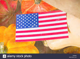 Thanksgiving Flags American Flag Fall Color In Stock Photos U0026 American Flag Fall