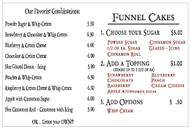celebrity secret funnel cake nutritional information