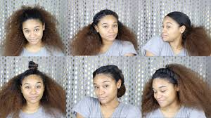 Hairstyles Easy And Quick by 6 Quick And Easy Summer Hairstyles I Under 5 Minutes Youtube