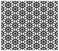 japanese pattern black and white japanese background and pattern in black silhouette stock vector