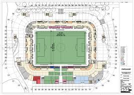 Stadium Floor Plans Plymouth Redevelopment Of Home Park 46 000 Pre Planning