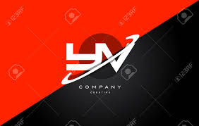 font design series vector yv y v red black white technology swoosh alphabet company letter