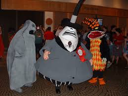 nightmare before christmas costumes nightmare before christmas the mayor oogie boogie and har flickr