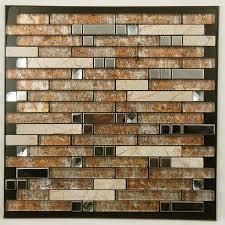Brushed Stainless Steel Backsplash by Metal And Glass Diamond Stainless Steel Backsplash Wall Tiles