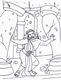 fiery furnace coloring page samson bible characters pinterest teacher stuff sunday