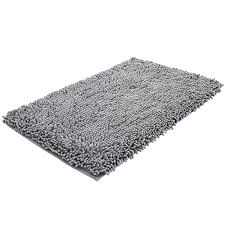 shop amazon com bath rugs super soft bath mat microfiber shag bathroom rugs non slip absorbent fast drying bathroom carpet shower