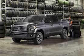 toyota updates 2018 tundra and sequoia adds available trd sport
