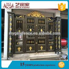 wholesale aluminum garden gates main gate hinge gates color paint