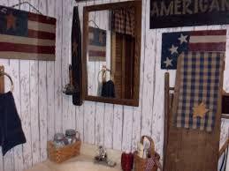 primitive americana bathroom decor pinterest americana